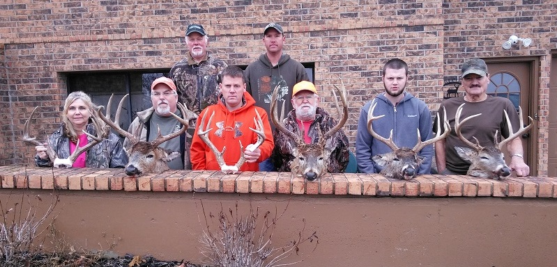 Some of Sam Moore's hunters.
